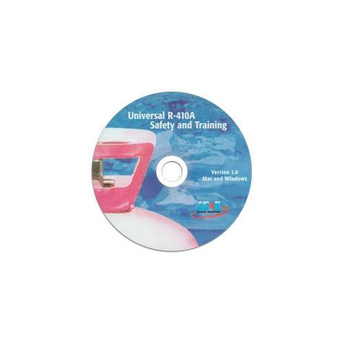 Universal R-410A Safety & Training CD-ROM