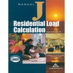 ACCA Manual J 8th Edition: Residential Load Calculation
