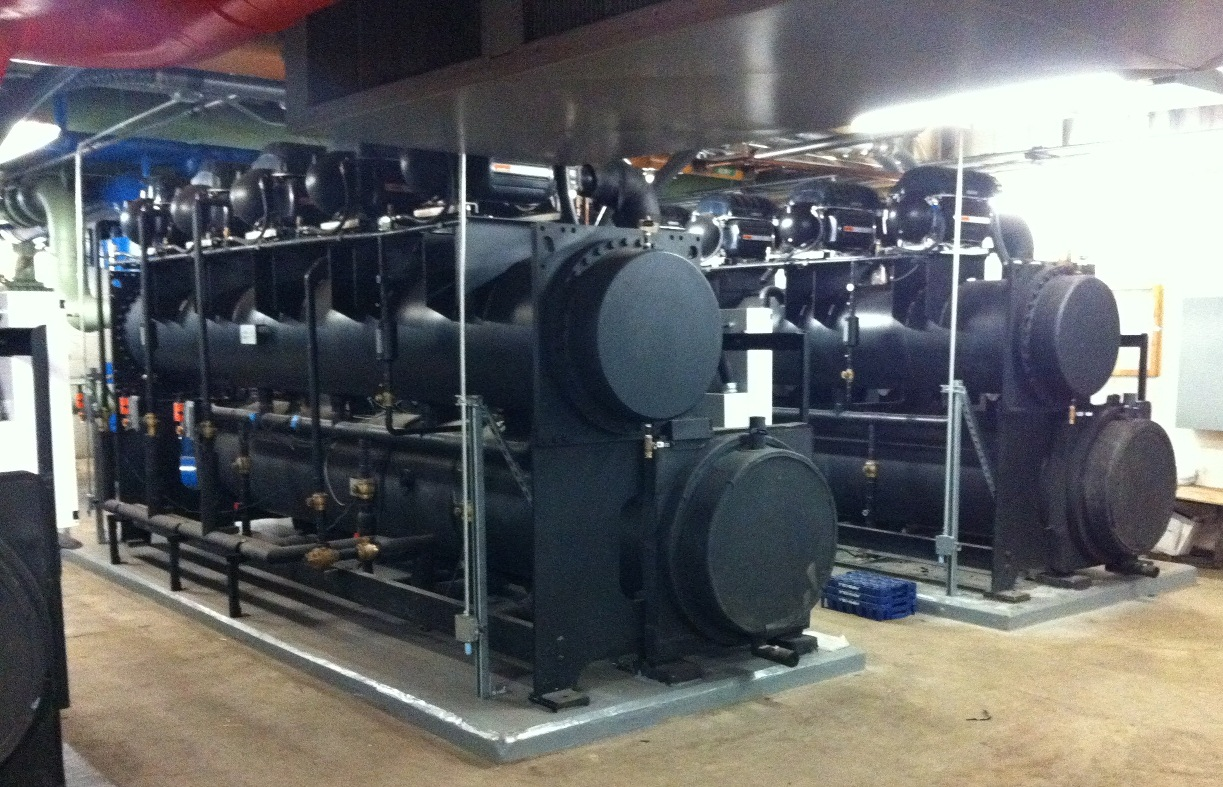variable speed centrifugal chillers using danfoss turbocor magnetic  #8C743F