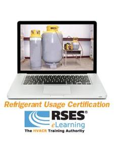 Refrigeration Usage Certification (EPA)