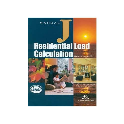 reference acca rses org rh rses org Manual J Calculator acca manual j residential load calculation 8th edition v.2.0