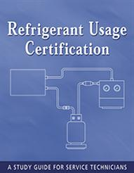 Refrigerant Usage Certification